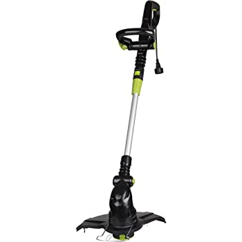 LawnMaster GT1313 13-Inch Electric Grass Trimmer 4.2 Amp,Black; Green
