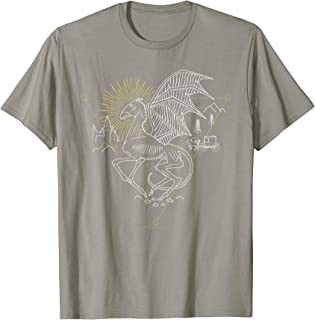 Harry Potter Thestral Line Art T-Shirt