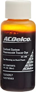 Genuine GM Fluid 12378563 Fluorescent Coolant System Tracer Dye - 1 oz.