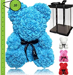 Azxu Rose Bear - Rose Teddy Bear