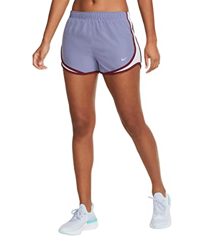 Nike Tempo Shorts (World Indigo/Ghost/Wolf Grey) Women