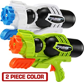 MAPIXO 2 Pack Super Water Gun(No Leaking), High Capacity Water Shooter Soaker Blaster Squirt Toy for Swimming Pool Party Sand Beach Game Outdoor Summer Fight�Activity for Child Kid boy and Girl