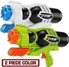 MAPIXO 2 Pack Super Water Gun(No Leaking), High Capacity Water Shooter Soaker Blaster..