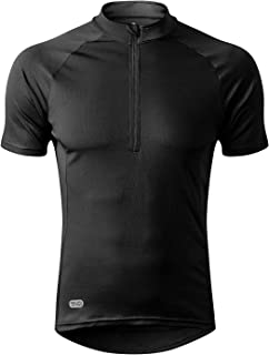 INBIKE Men's Moisture Wicking Short Sleeve Quick Dry Bike Jersey Running Tops Breathable Basic...
