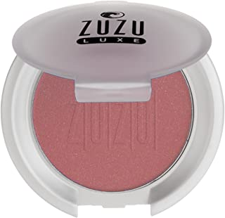 Zuzu Luxe Blush (Haze),0.01 oz,Mineral Blush, Richly pigmented, velvety smooth formula. Natural, Paraben Free, Vegan, Glut...
