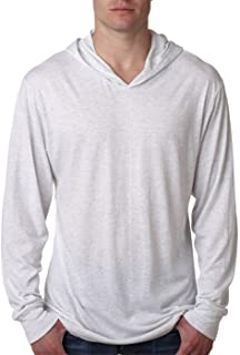 Next Level Apparel Tri-Blend Extreme Soft Hoodie, HEATHER WHITE, X-Large