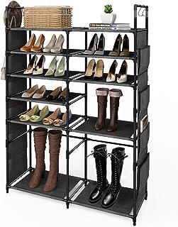 "ZERO JET LAG 57""H Shoe Rack Boots Storage Organizer 6"