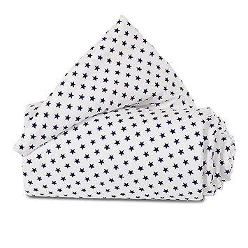 babybay Nestchen Organic Cotton f/ür Midi und Mini hellbraun Sterne wei/ß