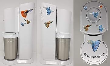 Stickers geschikt voor Sodastream CRYSTAL Guppy