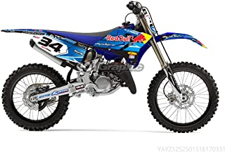 GRAPHICS DECALS STICKERS FULL KIT FOR YAMAHA YZ 125/250 2015-2019