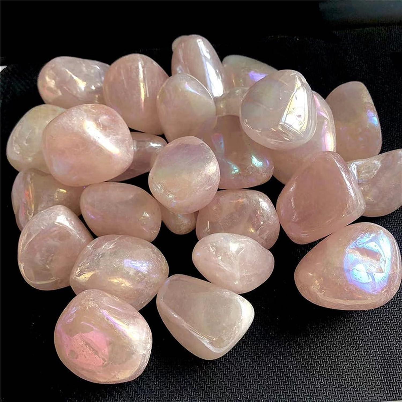 trend rank JSJJATQ Gemstone 100g Quartz Rose Brea Crystal Max 51% OFF Angel Aura Gravel