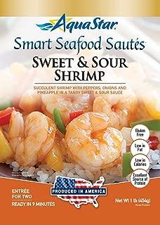 Aqua Star, Sweet and Sour Shrimp Saute, 16 oz (Frozen)