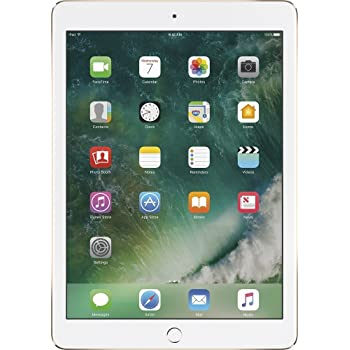 Apple iPad Air 2 MNV72LL/A 9.7-Inch 32GB Wi-Fi Tablet (Gold) (Refurbished)