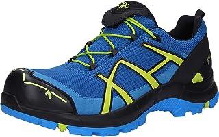 Haix Chaussures de sécurité Black Eagle Safety 40.1 Low/Blue-Citrus au look moderne de chaussures de sport