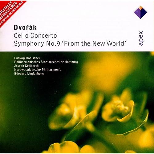 Dvorák : Cello Concerto & Symphony No.9, 'From the New World' - Apex von Ludwig  Hoelscher, Edouard Lindenberg & Nordwestdeutsche Philharmonie bei Amazon  Music - Amazon.de