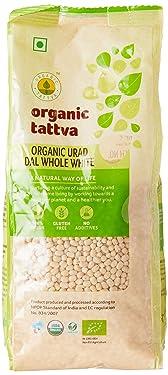 Organic Tattva Urad Dal Whole White, 500g