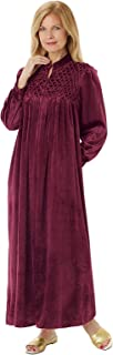 Carol Wright Gifts Long Zip-Front Robe