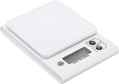 武田コーポレーション 【クッキング・はかり】 デジタル キッチンスケール 3kg ホワイト EC-201WH