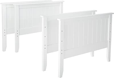 Ashley Furniture Signature Design - Lulu Twin/Twin Bunk Bed Panels - Component Piece - White