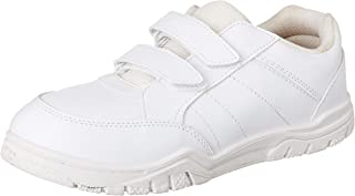 PARAGON Boy's White School Shoes - 9 Kids UK (26.5 EU) (A1PV0029GPWHT00009G499)
