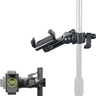 ChargerCity Music Pro Lyric Pole Bar Microphone Boom Mic Stand mount for Apple iPhone XR XS MAX X 8 7 Plus Galaxy S8 S9 No...