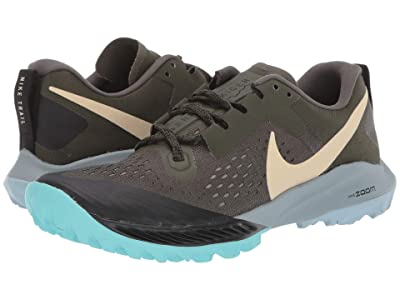 Nike Air Zoom Terra Kiger 5 (Cargo Khaki/Team Gold/Black/Jade Stone) Women