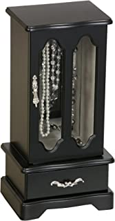 Mele Designs 03430T Townsend Wooden Jewelry Box in Java Finish
