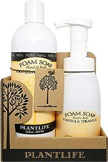 Value Set Vanilla Orange Foam Soap