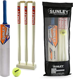 Sunley Wooden Cricket Kit Combo for All Age Group