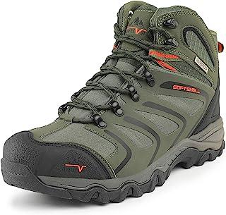 Men's Ankle High Waterproof Hiking Boots Outdoor Lightweight Shoes Trekking Trails