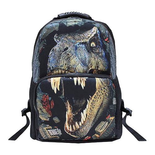 Tinksky 3D mochila Escuela unisexo mochila recorrido 3D de la impresión Animal bolso niños mochila mochila