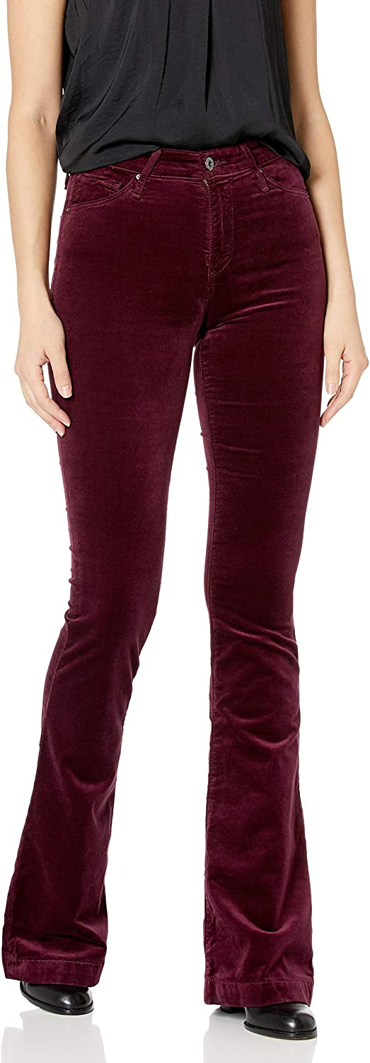 AG Adriano Save money Goldschmied Women's Janis Max 69% OFF Cord Flare High-Rise Pant