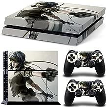 EBTY-Dreams Inc. - Sony Playstation 4 Original (PS4 Original) - Ghost In The Shell Anime Major Motoko Kusanagi Vinyl Skin Sticker Decal Protector