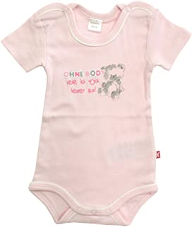 Kanz Body de manga corta para bebé, color rosa pálido, talla 62