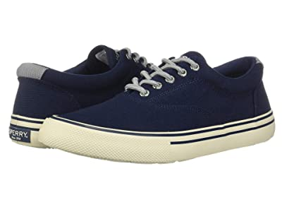 Sperry Striper II Storm CVO Duck Canvas (Navy) Men