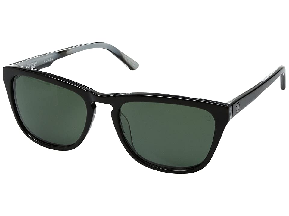 Spy Optic Hayes (Black/Horn/Happy Gray/Green) Sport Sunglasses