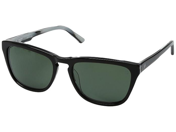 Spy Optic Hayes (Black/Horn/Happy Gray/Green) Sport Sunglasses