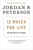 Cover image of 12 Rules for Life by Jordan B. Peterson
