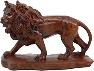 Ebros King of The Safari African Lion Statue 7