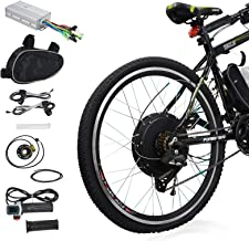 "Voilamart E-Bike Conversion Kit 26"" Rear Wheel 36V 500W Electric Bicycle Conversion Motor Kit with Intelligent Controller ..."