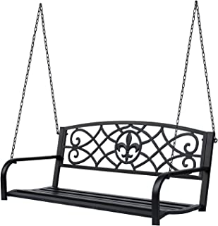 antique garden swing seat