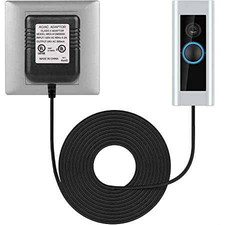 Details about  /Power Supply Adapter Transformer W// 5M Wire For Video Ring Doorbell Transformer