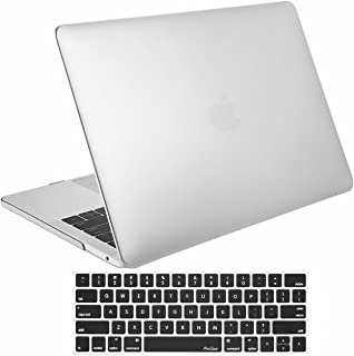 MacBook Pro 15 Case 2017 & 2016 A1707 ProCase Hard Case Shell Cover and Keyboard Cover for Apple Macbook Pro 15 (Newest 2017 & 2016 Release) with Touch Bar and Touch ID -Silver