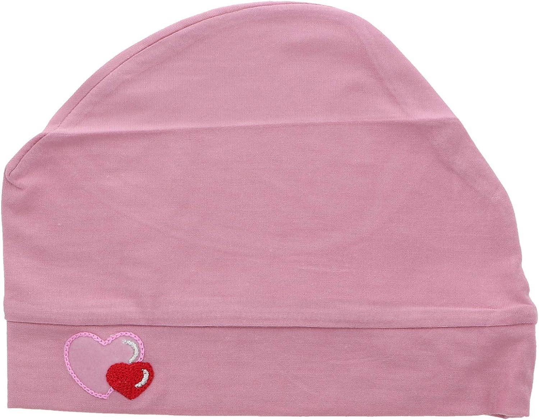 Landana Headscarves Womens Soft Sleep Cap Comfy Cancer Hat with Hearts Applique