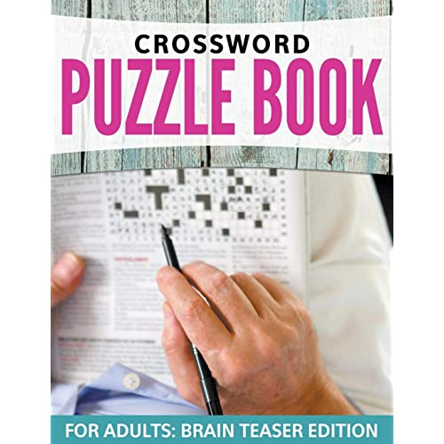 Crossword Puzzles For Adults Amazon Co Uk
