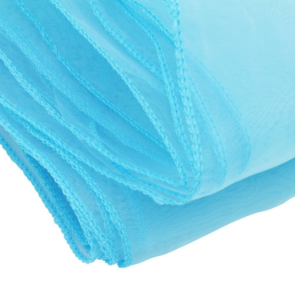 Time to Sparkle TtS 100pcs 22x280cm Organza Sashes Wider Sash Fuller Bows Chair Cover Bows Sash for Wedding Party Birthday Decoration, Royal Blue