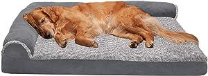 Furhaven Pet - Plush Orthopedic Sofa Pet Bed