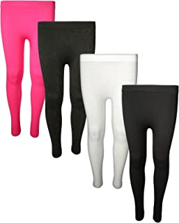 ff3b2a72989e4 Star Ride Girls Fleece Lined Leggings (4 Pack) (One Size Fits All)