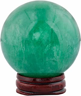 rockcloud Healing Crystal Natural Green Fluorite 1.9