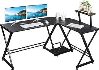 Best small black corner desk with storage Reviews